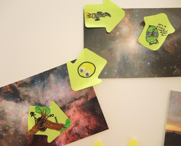 Space close-ups